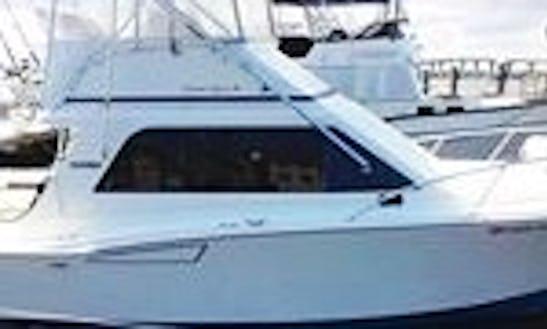 34ft Sport Fisherman Boat Fishing Charter In Stuart, Florida