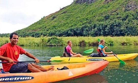 Reserve A Kayak Trips In Kapaa, Hawaii