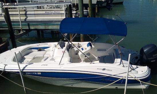 Enjoy Saint Pete Beach, Florida On 21' Hurricane Sundeck Boat