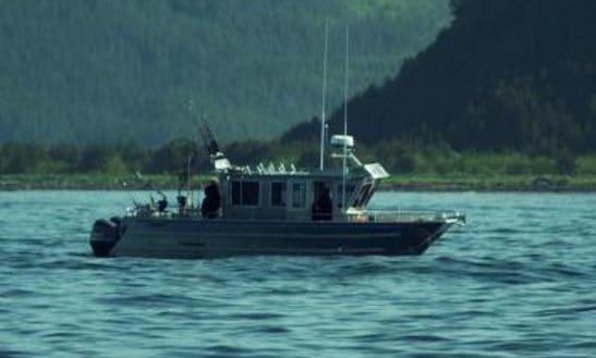 32ft Armstrong Marina Boat In Seward, Alaska