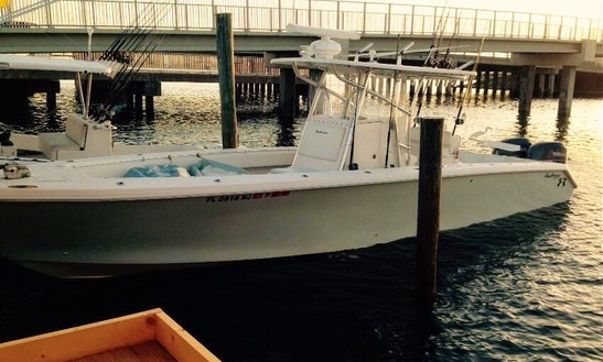 35' Sea Hunter Fishing Boat In Madeira Beach