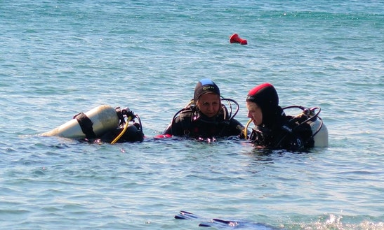 Discover Scuba Diving In Milos