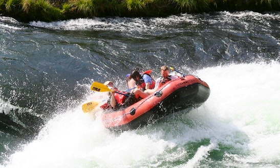 Whitewater Rafting Adventure On Deschutes River, Maupin