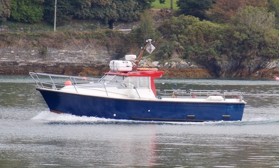 32' Head Boat Fishing Trips In Cork, Ireland