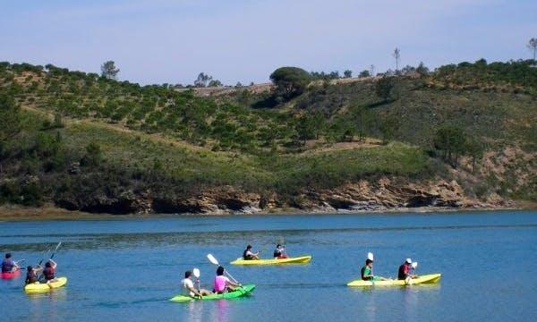 Rent Tandem Kayak with Life Vest and Paddle in Vila Nova de Milfontes, Portugal