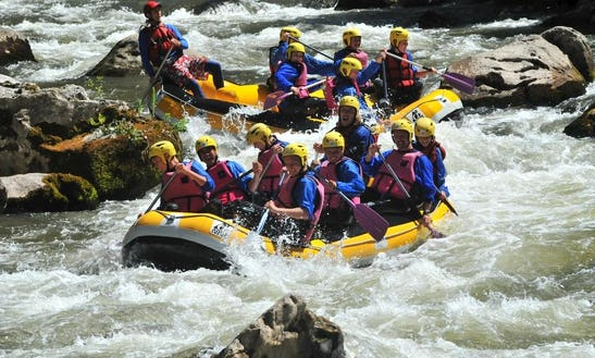 Rafting Trips In Tramezaigues, France