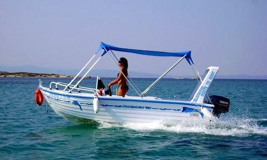 Posidonas 430 25hp Boat Rental In Greece