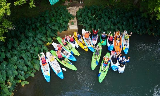 Single Kayak Rental In San Marcos, Texas