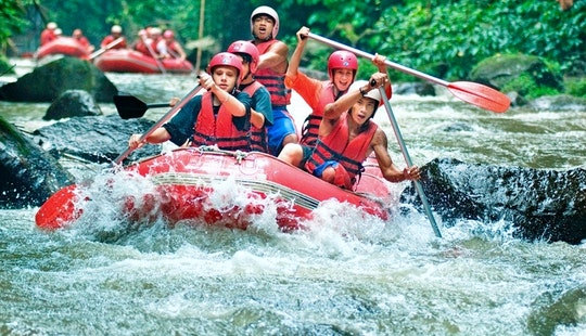 Explore Ubud, Bali On An Exciting Rafting Tour!
