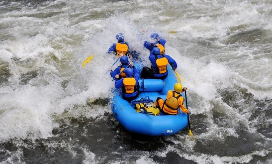 White Water Rafting In California River