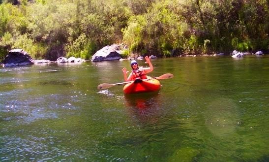 Inflatable Kayaking In Big Bar