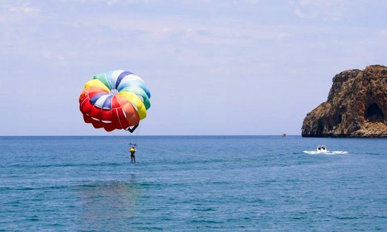 Parasailing Flights In Chania, Greece