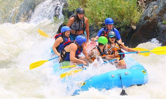 River Rafting Trips On The Trinity Rivers