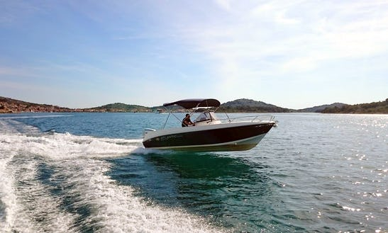 Atlantic 670 Open Boat Hire In Tisno