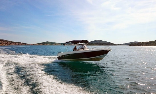 Atlantic 670 Open Boat Hire In Tisno