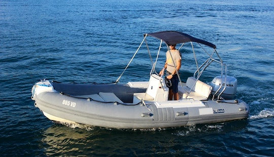 Bwa California 550 Rib Boat Hire In Tisno