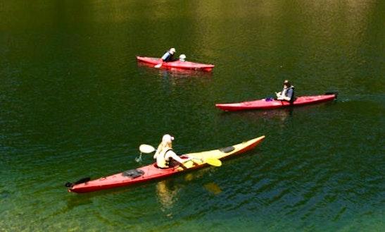 Kayak Lessons On Lake Natoma