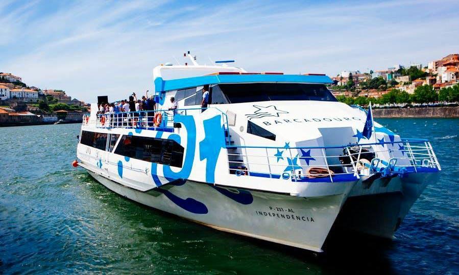 'Independência' Catamaran Cruise Trips in Vila Nova de Gaia