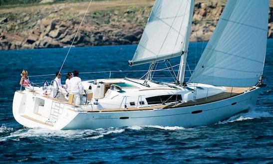 'seaesta' Oceanis 46 Sailing Monohull Charter In Santorini