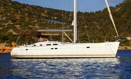 'kioni' Oceanis 473 Sailing Monohull Charter In Santorini