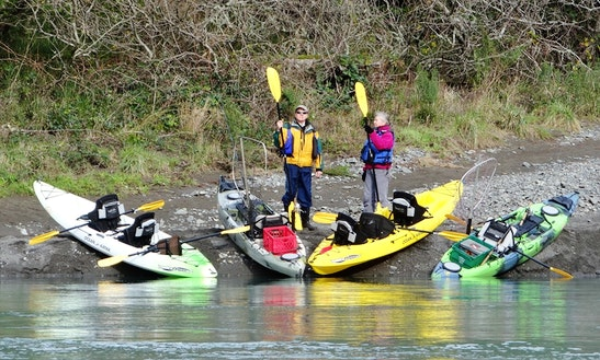 Tandem Touring Kayak Rental In Smith River