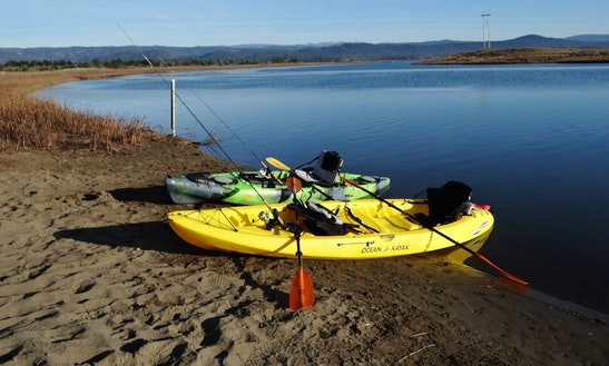 Tandem Fishing Kayak Rental In Smith River
