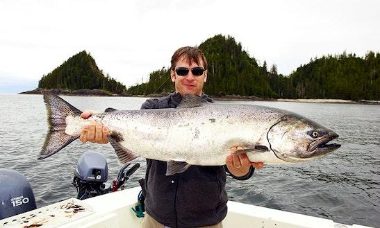 Motor Yacht Fishing Charter In Ketchikan