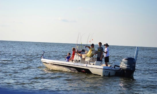 24' Skeeter Center Console Fishing Boat In Venice, La