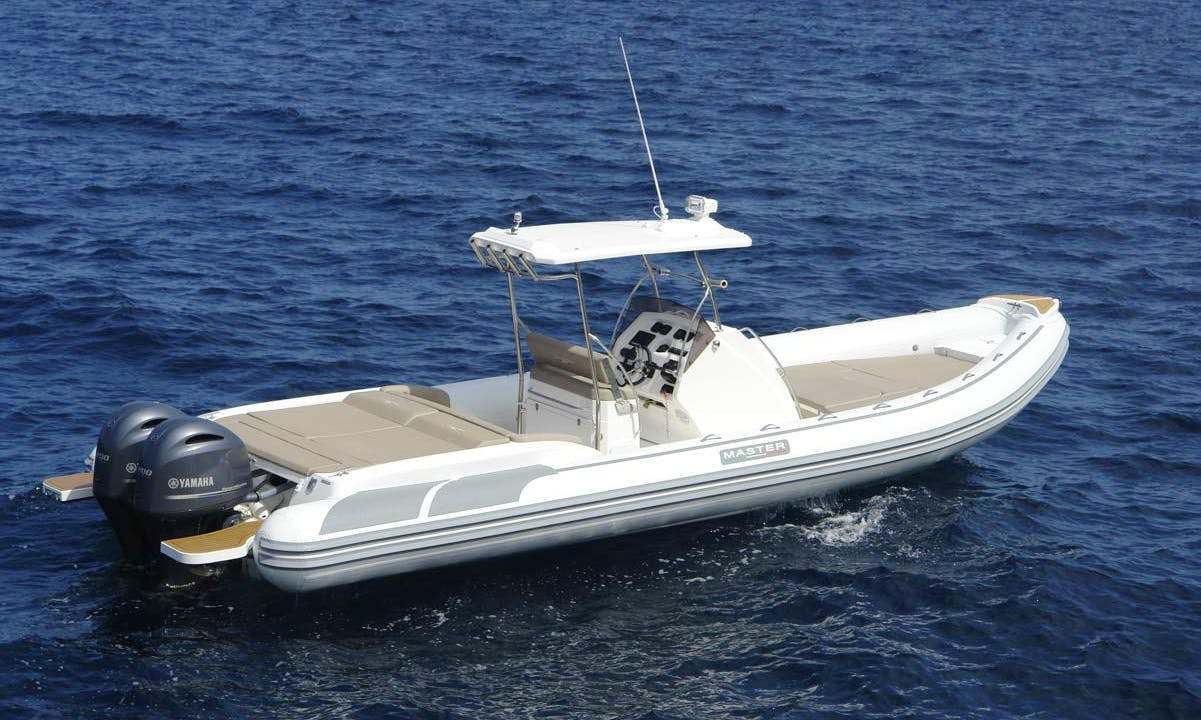Master 870 RIB Boat Hire in France
