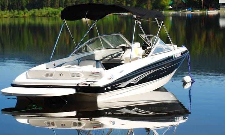 Bowrider Rental In Seeley Lake, Montana