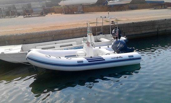 Rent 16' Jolly Motor Boat In Isola Di Capo Rizzuto