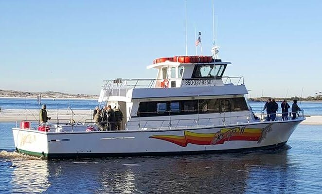 "Fishing Charter On 65ft ""Swop II"" Boat In Destin, Florida"