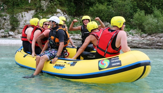 Rafting In Soča