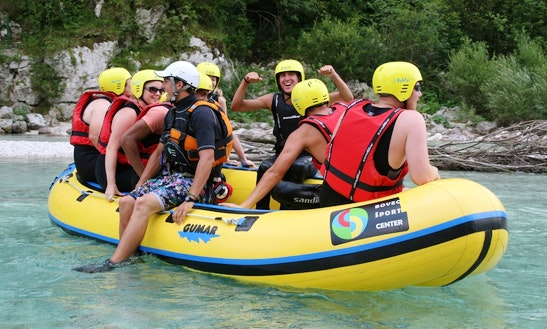 Rafting In Soča