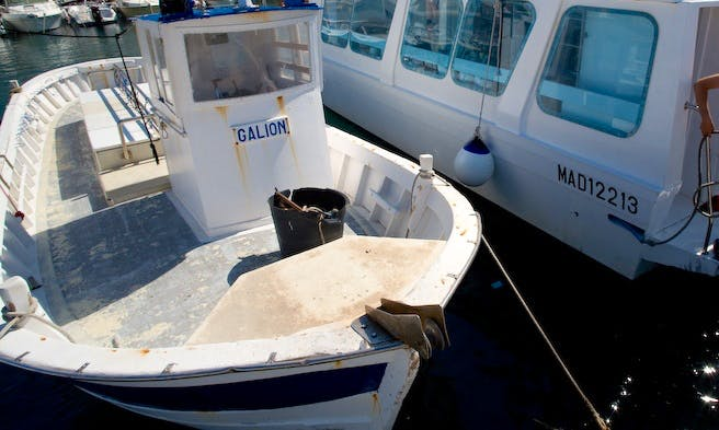 Scuba Diving Trips aboard the 36' Wooden Dive Boat in Marseille, France