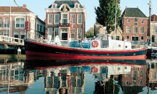"""Lilla Marras"" Cruising in Harlingen, Netherlands"