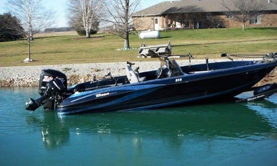 Bass Boat Fishing Trips In Osborn, Wisconsin
