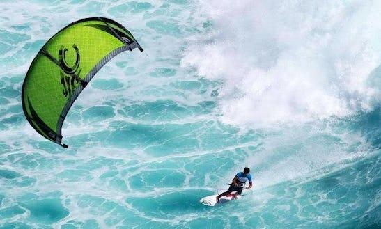 Kiteboarding In Rosebud