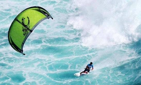 Kiteboarding In Rosebud