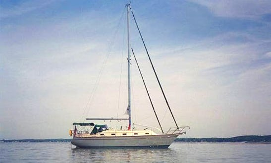 Enjoy 39' Island Packet Cutter Sailboat In Charleston, South Carolina