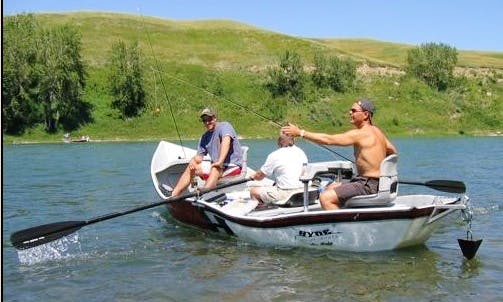 Guided Fly Fishing Trip On Bow River