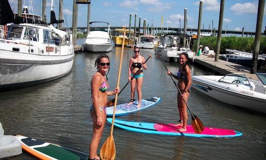 Paddleboard Rental In Tybee Island, Georgia