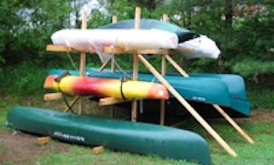 14' Canoe Rental In Morristown, Vermont