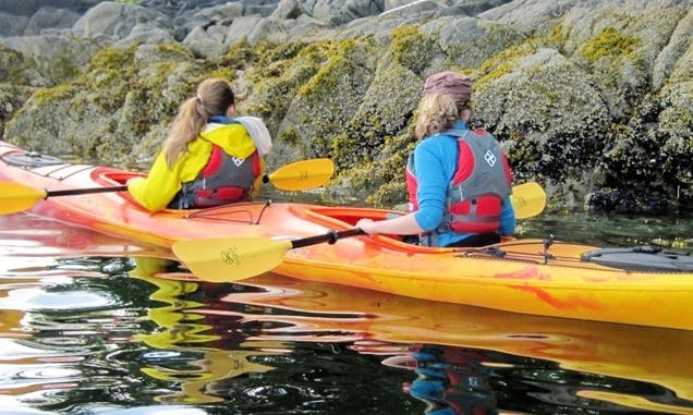 Tandem Kayak Rental in Morristown, Vermont