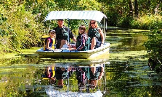 Paddle Boat Rental In La Peche, Canada