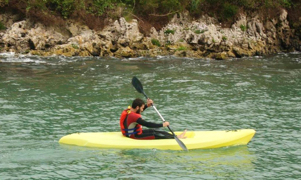 Rent a Single Kayak in Solaro, France with your family!