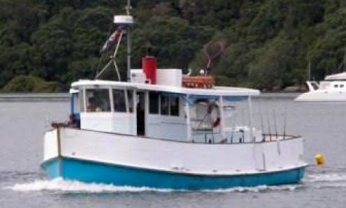 """42' Fishing Charter """"Te Kuia"""" In Tauranga"""