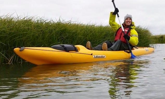 Kayaking in Stokkseyri