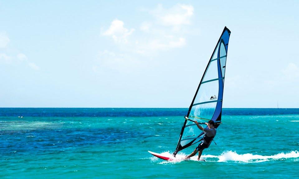 Windsurfing at the Resort In Grenadines