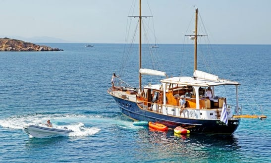 65' Luxury Motorsailer Yacht In Athens